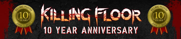 10 YEAR ANNIVERSARY of the Killing Floor